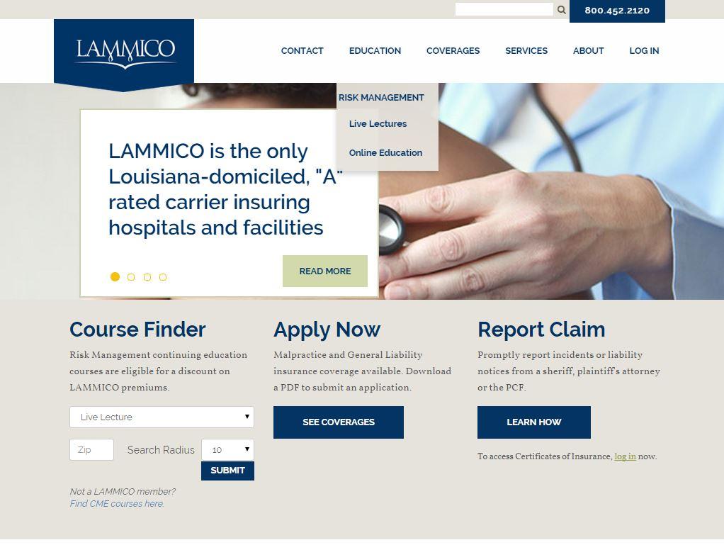 New LAMMICO.com to Launch