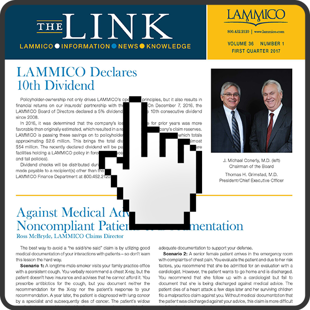 The LINK, Vol. 36, No. 1
